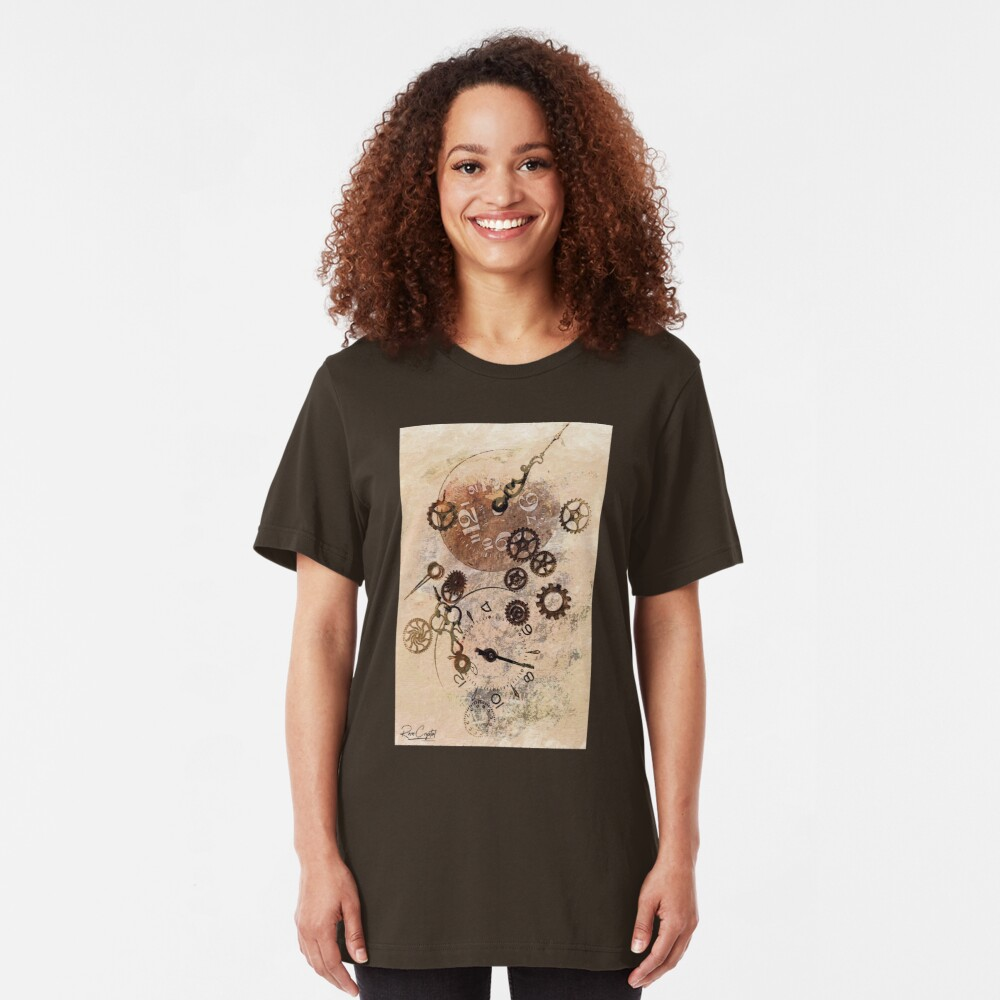 Time Flies By Slim Fit T-Shirt