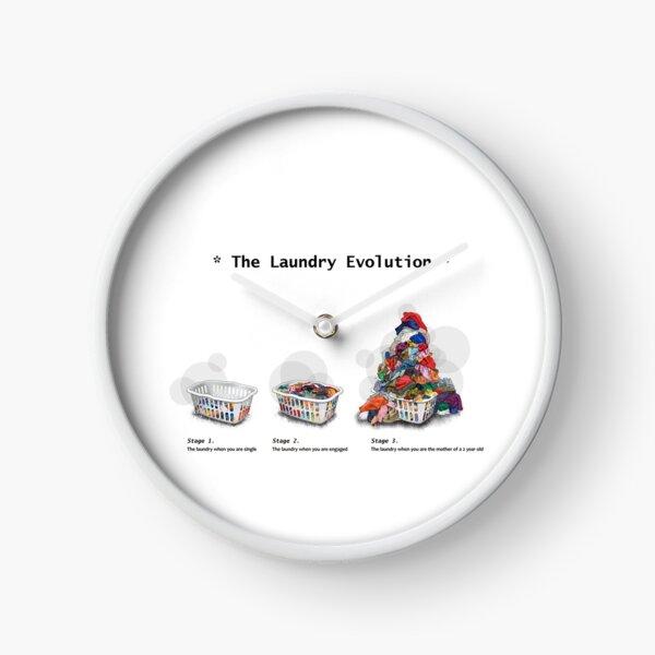 Laundry Evolution Clock
