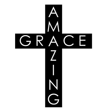 Amazing Grace Cross by MarisaEikenbrry