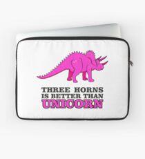 Triceratops Dino - Three Horns better than Unicorn VRS2 Laptop Sleeve