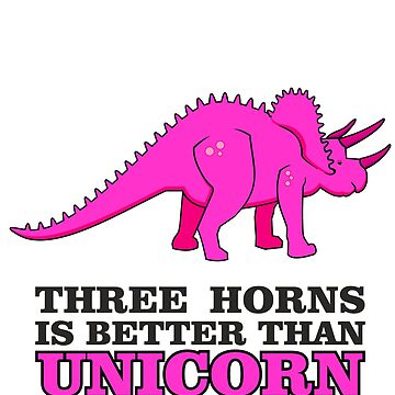 Triceratops Dino - Three Horns better than Unicorn VRS2 by vivendulies