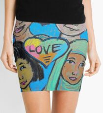 LOVE is All of Us Mini Skirt