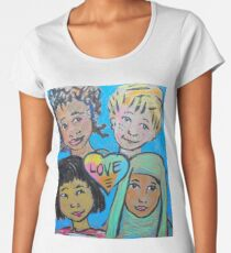 LIEBE ist alles von uns Frauen Premium T-Shirts