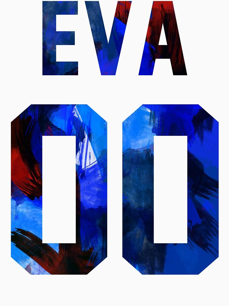 EVA-00 (Neon Genesis Evangelion) by ashplus