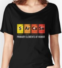 Camiseta ancha Humor sarcasmo Mendeleev elementos periodicos