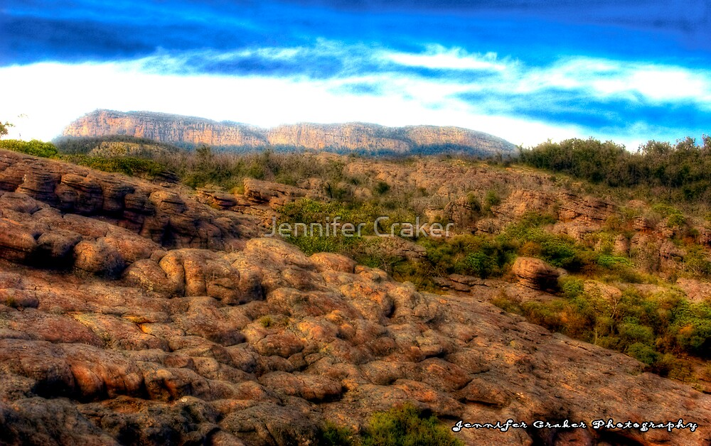 Stunning Moonscape of the Grampians by Jennifer Craker