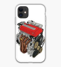 DOHC JDM B18C Honda Vtec 18 iphone case