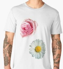 Rose & daisy Men's Premium T-Shirt