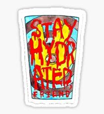 Stay Hydrated - REZZ Sticker