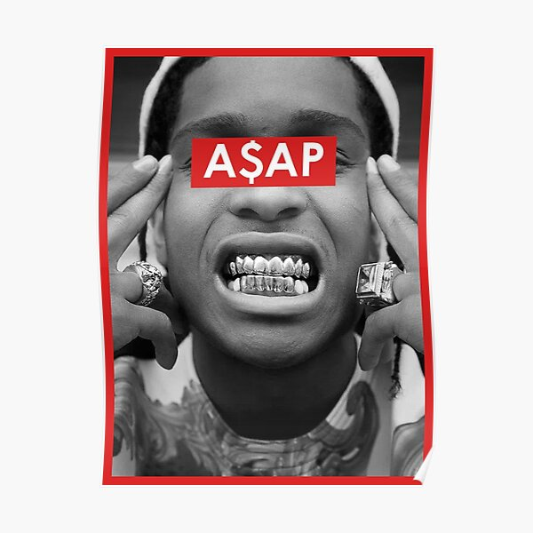 Rap Greats - A$AP Poster