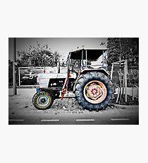 berlin hippy tractor Photographic Print