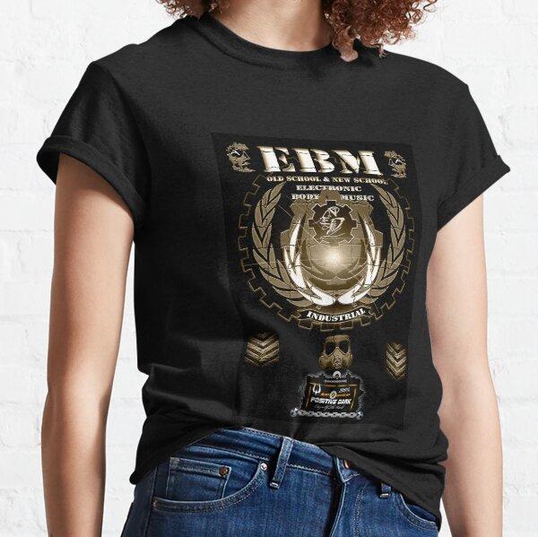 032_EBM&EDÑ_Brown2-art-eddyscap Camiseta clásica