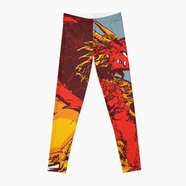 Red Dragon Leggings