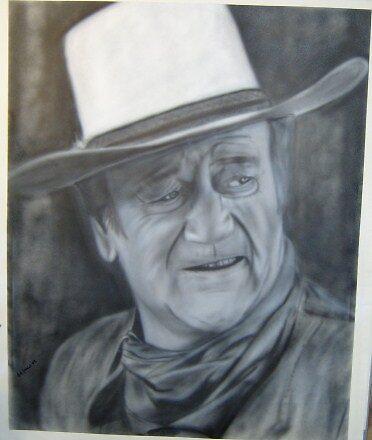 John Wayne by milsey