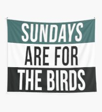 Sundays are for the Birds Wall Tapestry