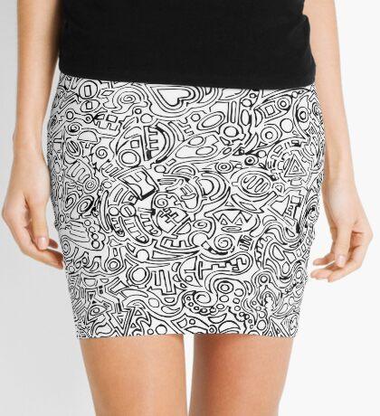 One Cheek Clapping Mini Skirt