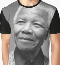 Nelson Mandela Portrait  Graphic T-Shirt