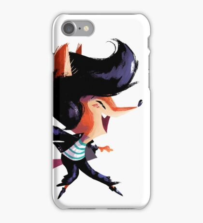 Dancing Fox iPhone Case/Skin