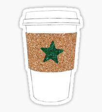 Starbucks Inspired Coffee Cup Sticker
