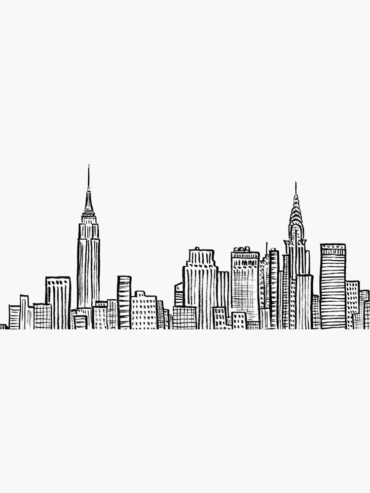 Skyline von New York City von cea010