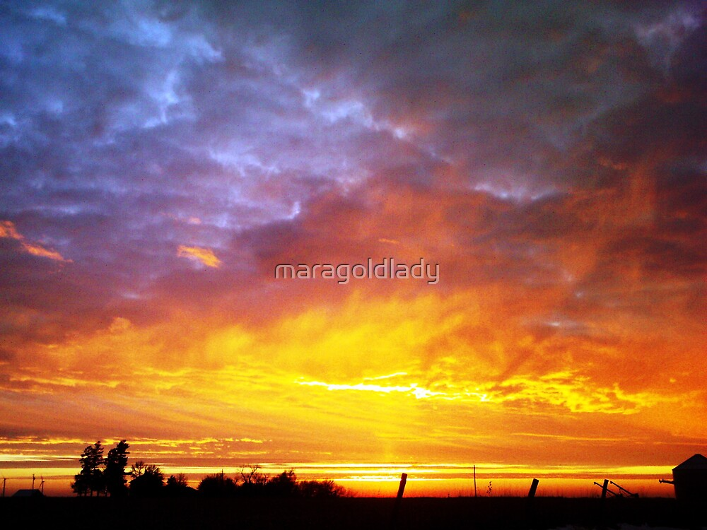 Heavenly Fire by maragoldlady