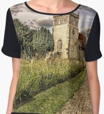 Bucklebury Parish Church Berkshire Chiffon Top