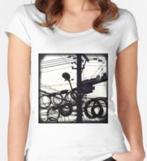 OLD SHANGHAI - High Speed Development Women's Fitted Scoop T-Shirt