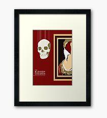 The Bloody Chamber Design Framed Print