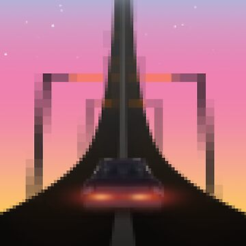 Road to the Retrowave by XOXOX