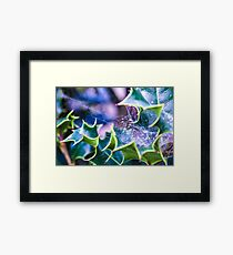 Magical Web Framed Print