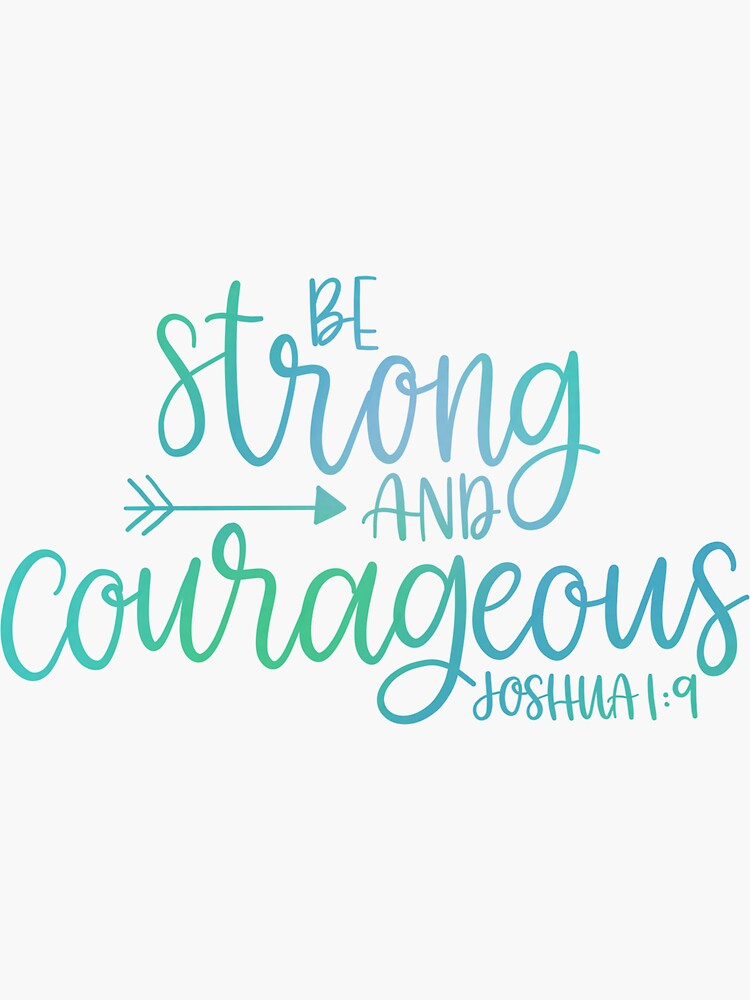 Joshua 1: 9 Farbe von scriptedbysyd