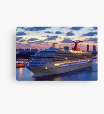 Early Morning Cruise Canvas Print