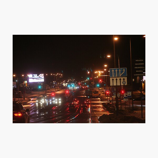 My Home Way (my city) Photographic Print