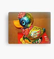 *Donald Duck Easter Gift* Canvas Print