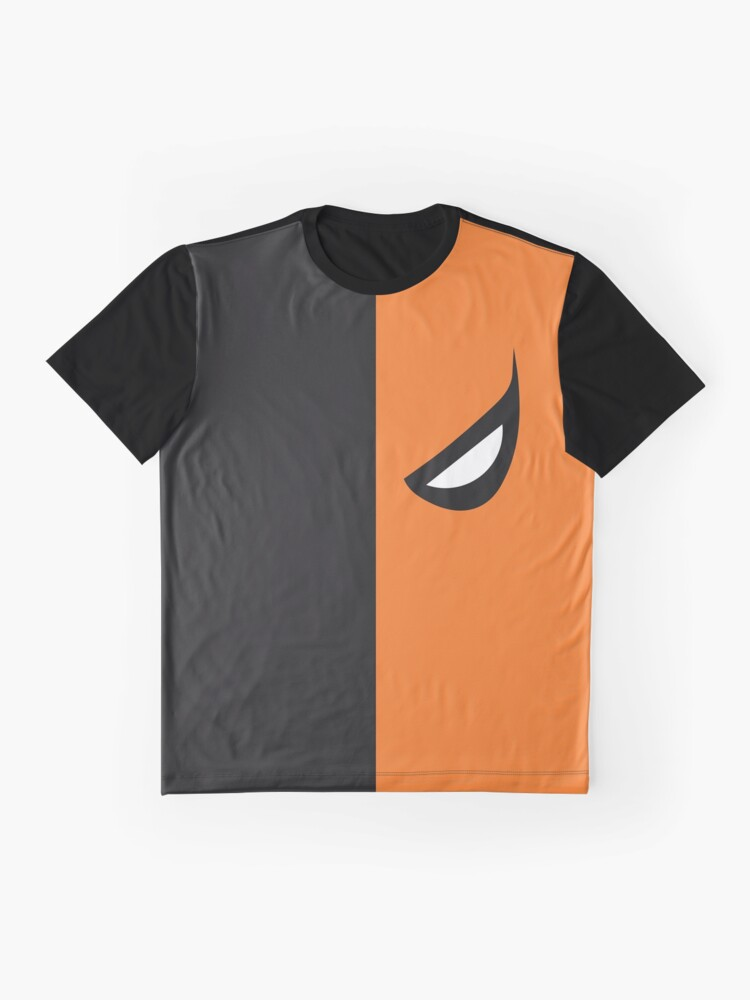 Alternate view of Deathstroke Mask Graphic T-Shirt