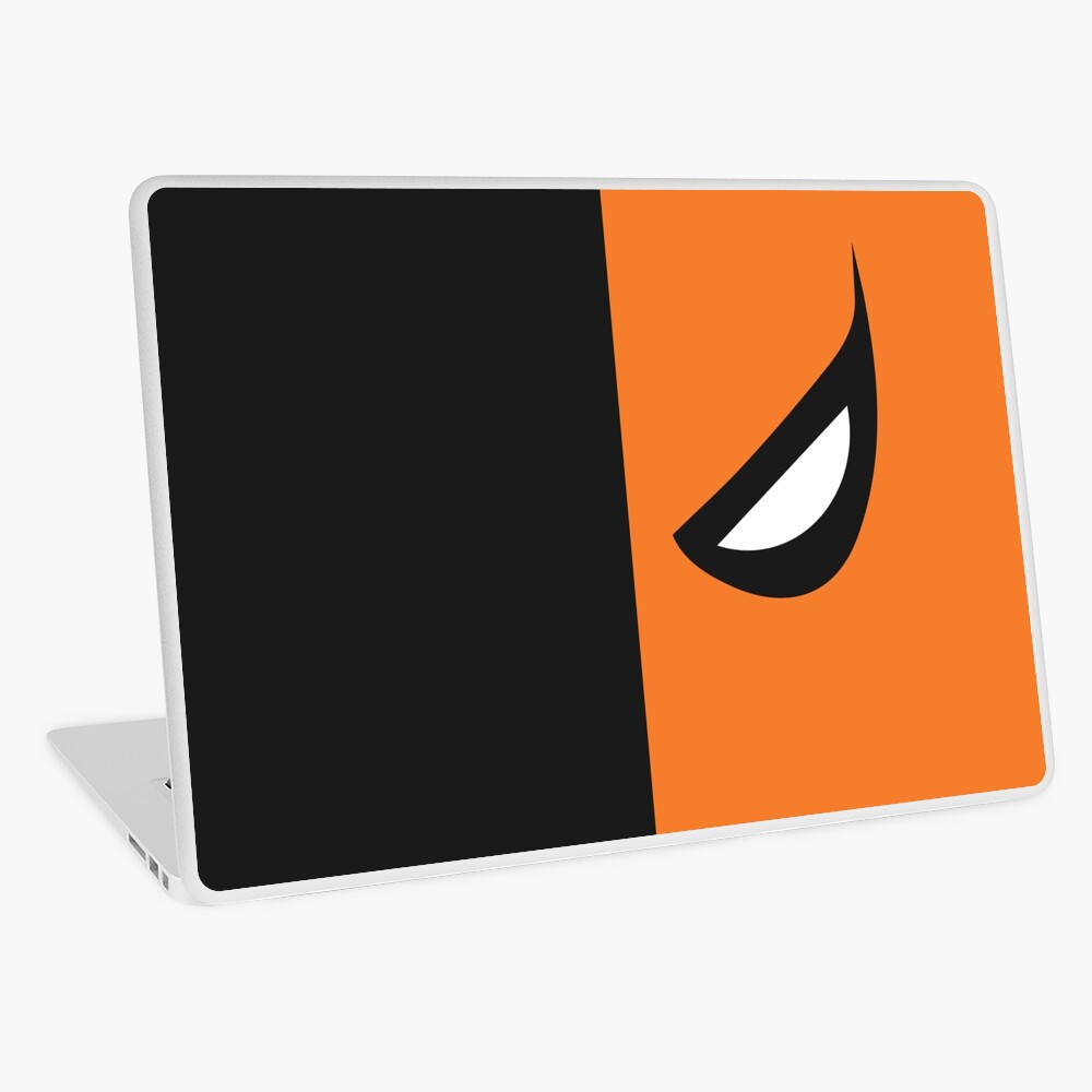 Deathstroke Mask Laptop Skin
