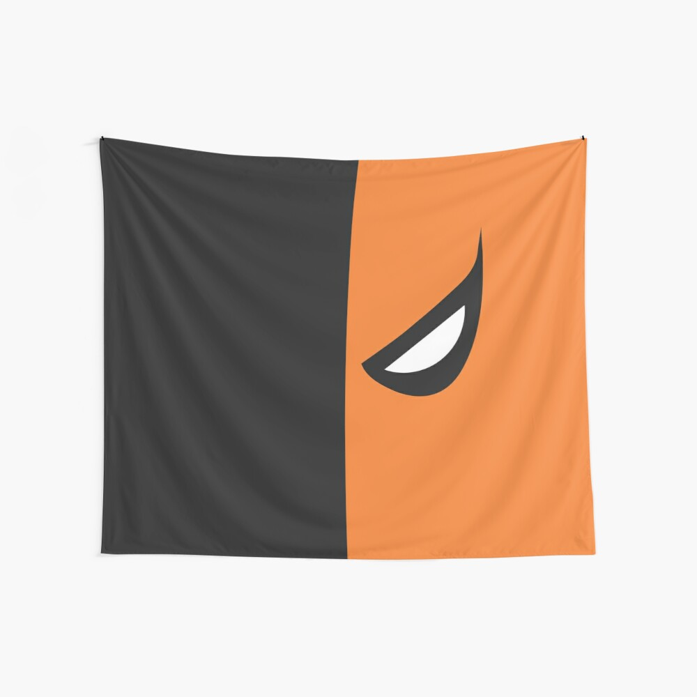 Deathstroke Mask Wall Tapestry