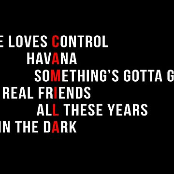 Camila - Album Songs by idolstore