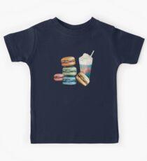 Milkshakes and Macarons Kids Tee