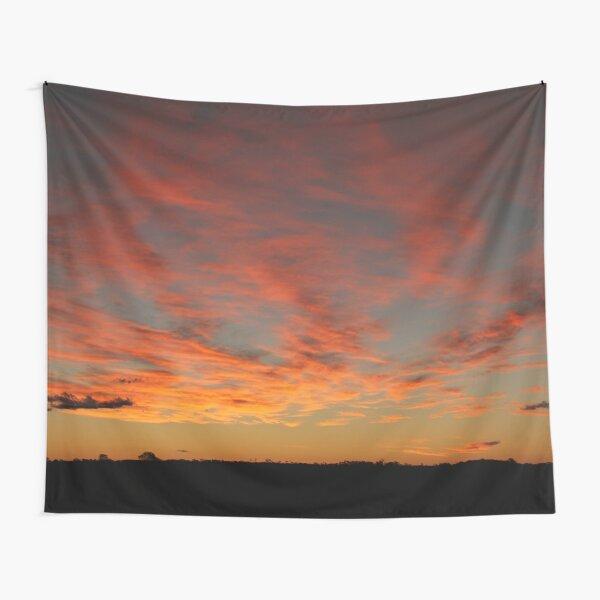 Australian desert sunset Tapestry