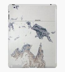 Cartography / rivers iPad Case/Skin