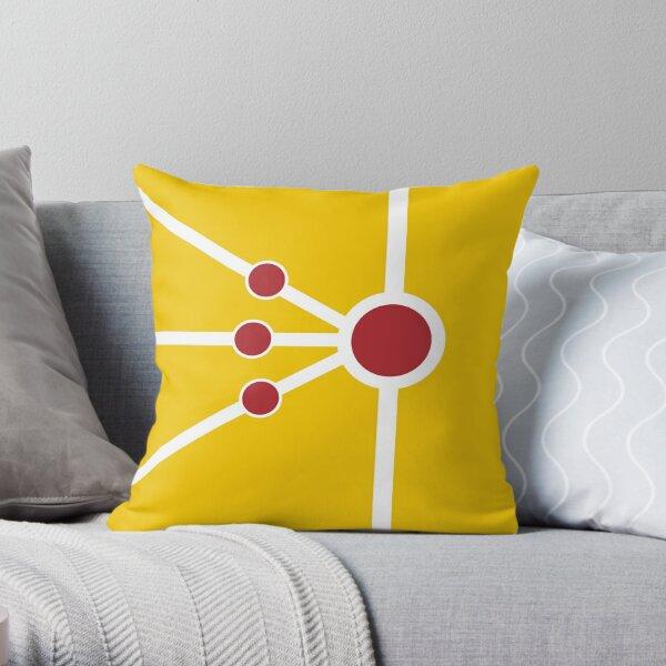 Firestorm Weapon Throw Pillow