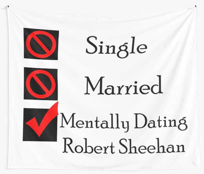 Mentally Dating Robert Sheehan by wasabi67