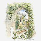 Arch Garden, Ross by Muriel Sluce by Wendy Dyer