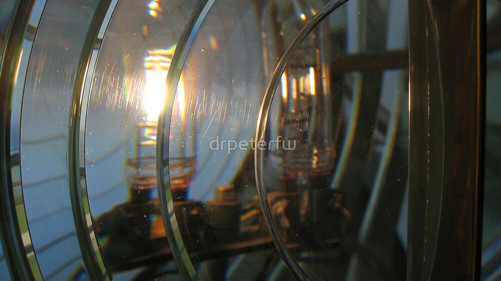 Point Vicente Lighthouse Lamp by drpeterfw