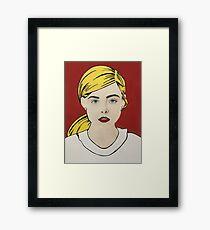 Girl Pop Framed Print