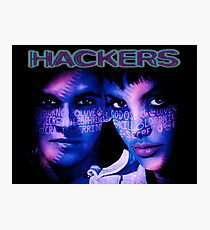 Don't Mess With Hackers Photographic Print