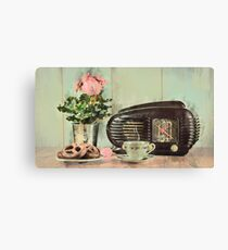 Vintage Breakfast Canvas Print