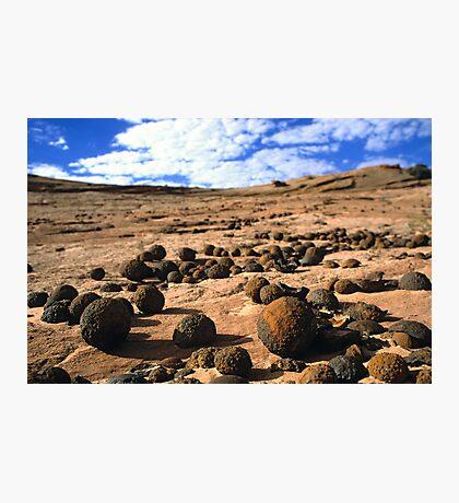 Moqui Marbles Photographic Print
