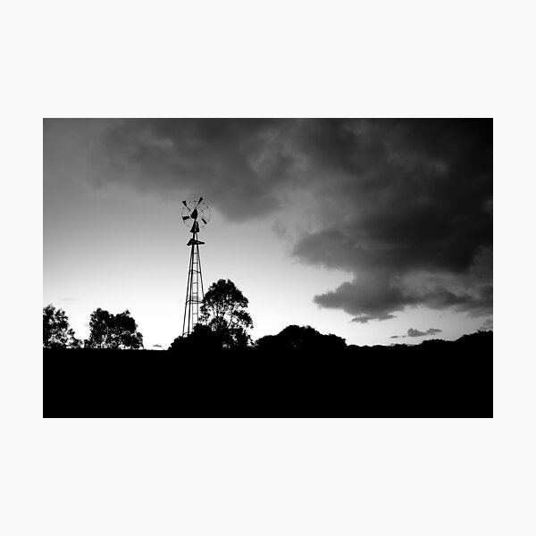 Margaret River Windmill Photographic Print